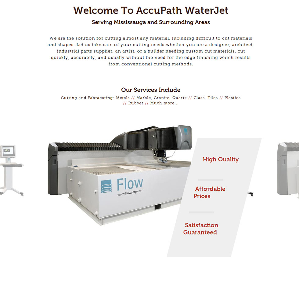 AccuPath WaterJet Solutions